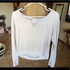 Sweaters - Soft light grey sweater